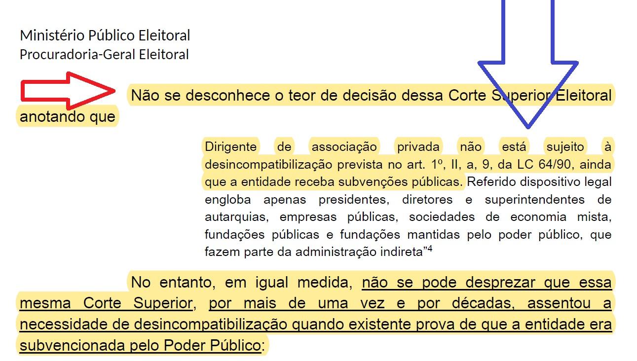 parecer PGE caso Frederico Paes