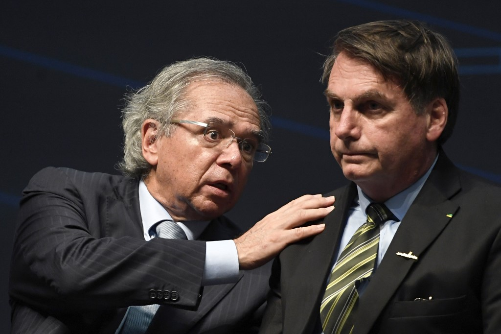 FILES-BRAZIL-ECONOMY-GUEDES-TOP AIDES-HEALTH-VIRUS
