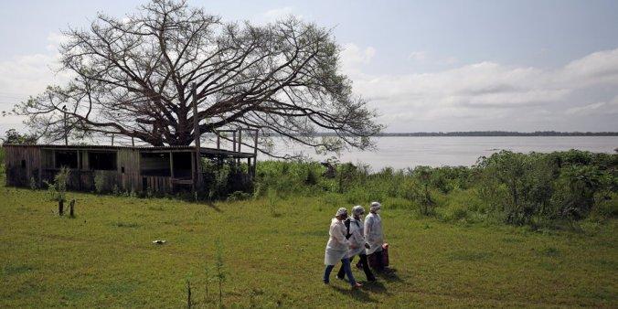 Outbreak of the coronavirus disease (COVID-19), in Manacapuru