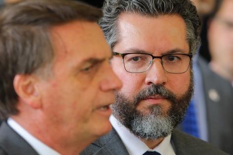 BRAZIL-POLITICS-BOLSONARO-ARAUJO