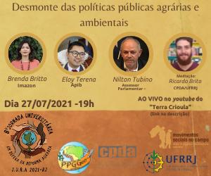 8ª Jornada Universitária em Defesa da Reforma Agrária