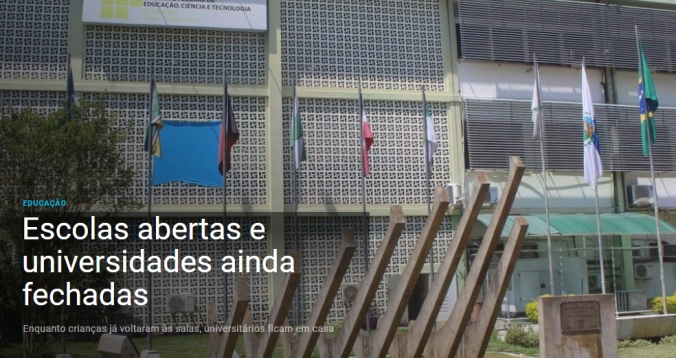 escolas abertas